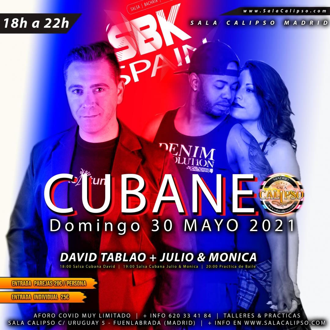 Intensivo CUBANEO - Domingo 30 Mayo 2021 - Sala Calipso