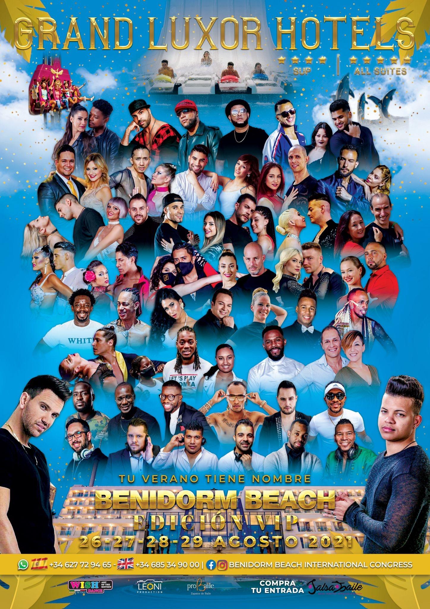 Benidorm Beach International Congress - 26-27-28-29 Agosto 2021