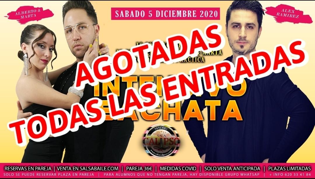 Intensivo BACHATA Sábado 5 Diciembre 2020