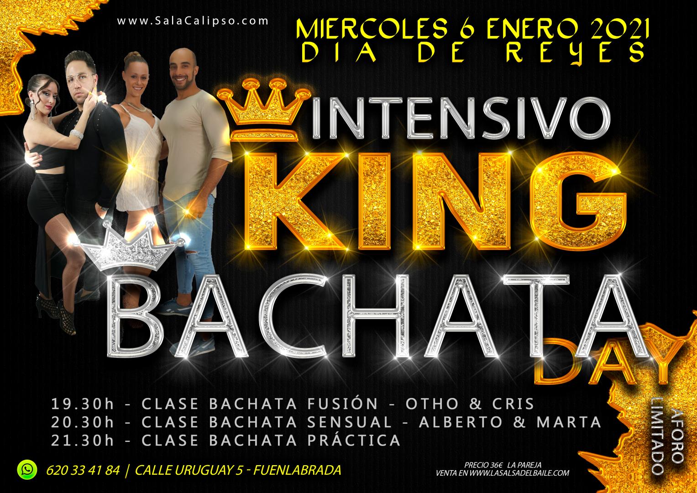 Intensivo KING BACHATA DAY Miercoles 6 Enero 2021