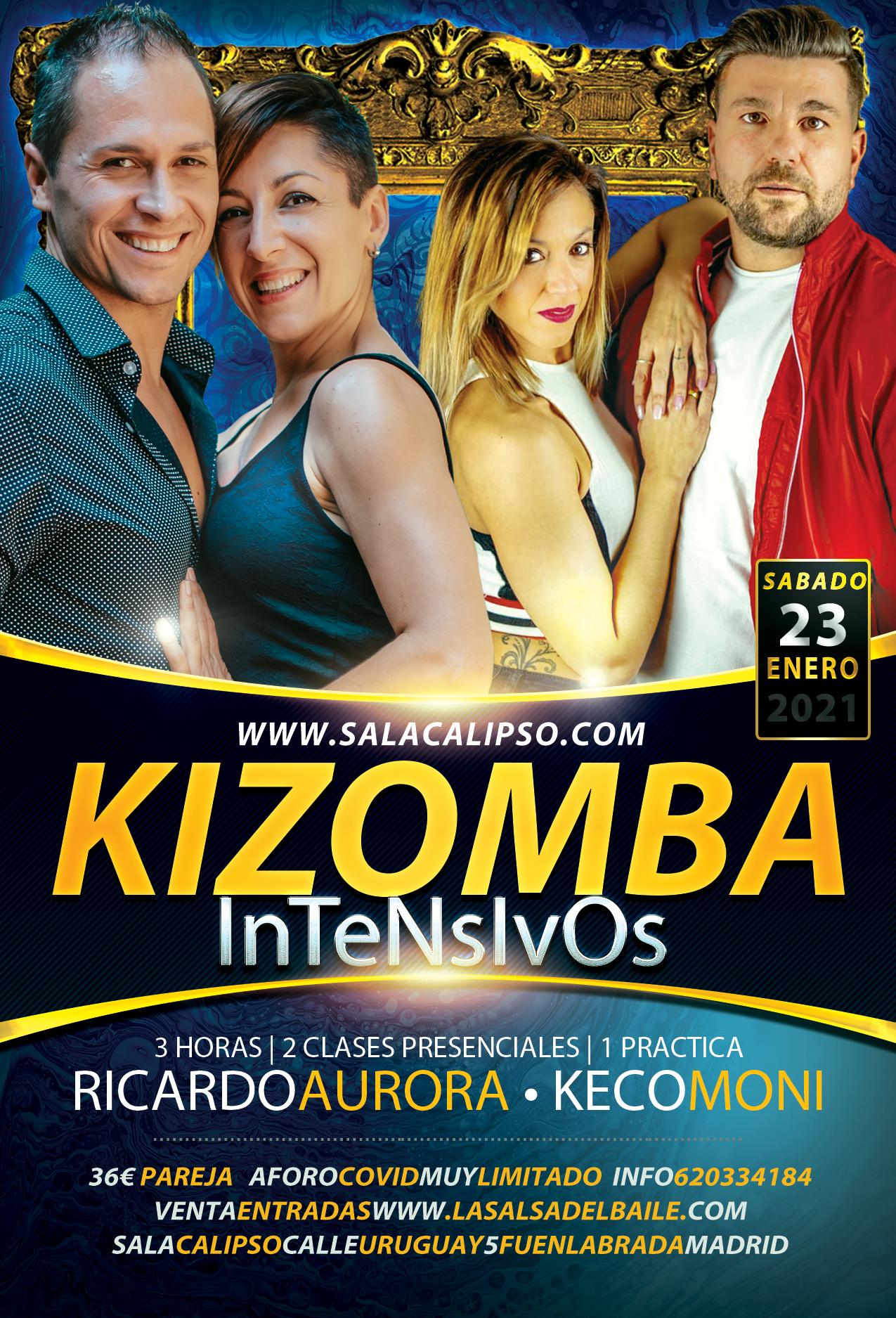 Intensivo Kizomba - Sabado 23 Enero 2021