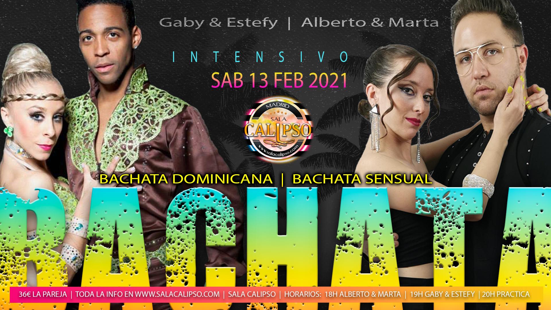 Intensivo Bachata - Sabado 13 Febrero 2021