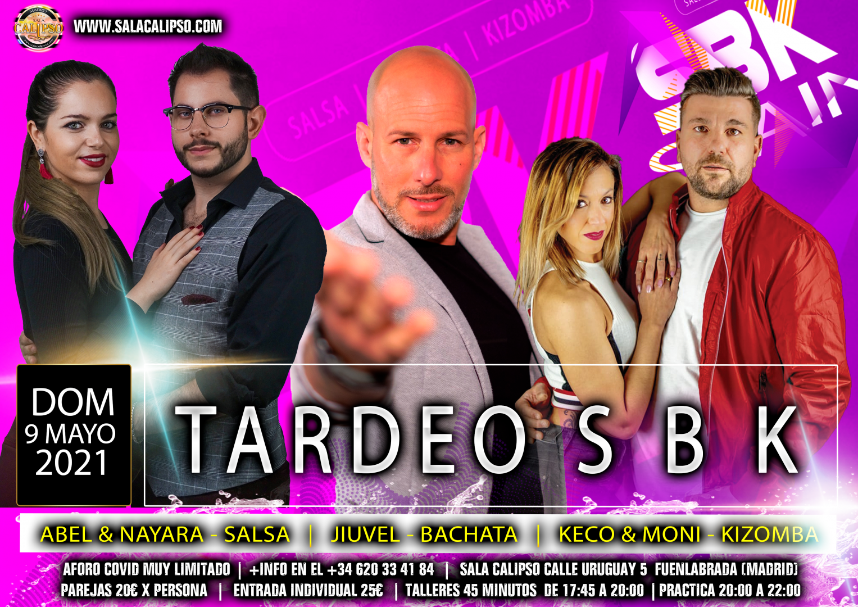 Intensivo Tardeo SBK Domingo 9 Mayo 2021 - Sala Calipso